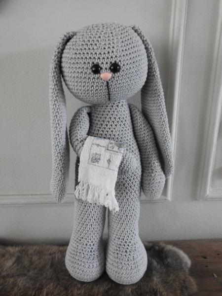 Xxl Funny Bunny Basic Staand Lichtgrijs Xxl Funny 69042 010