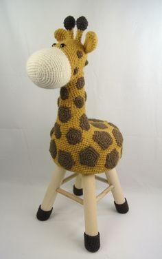 Haakpakket Dierenkruk Giraffe Dierenkruk Giraffe